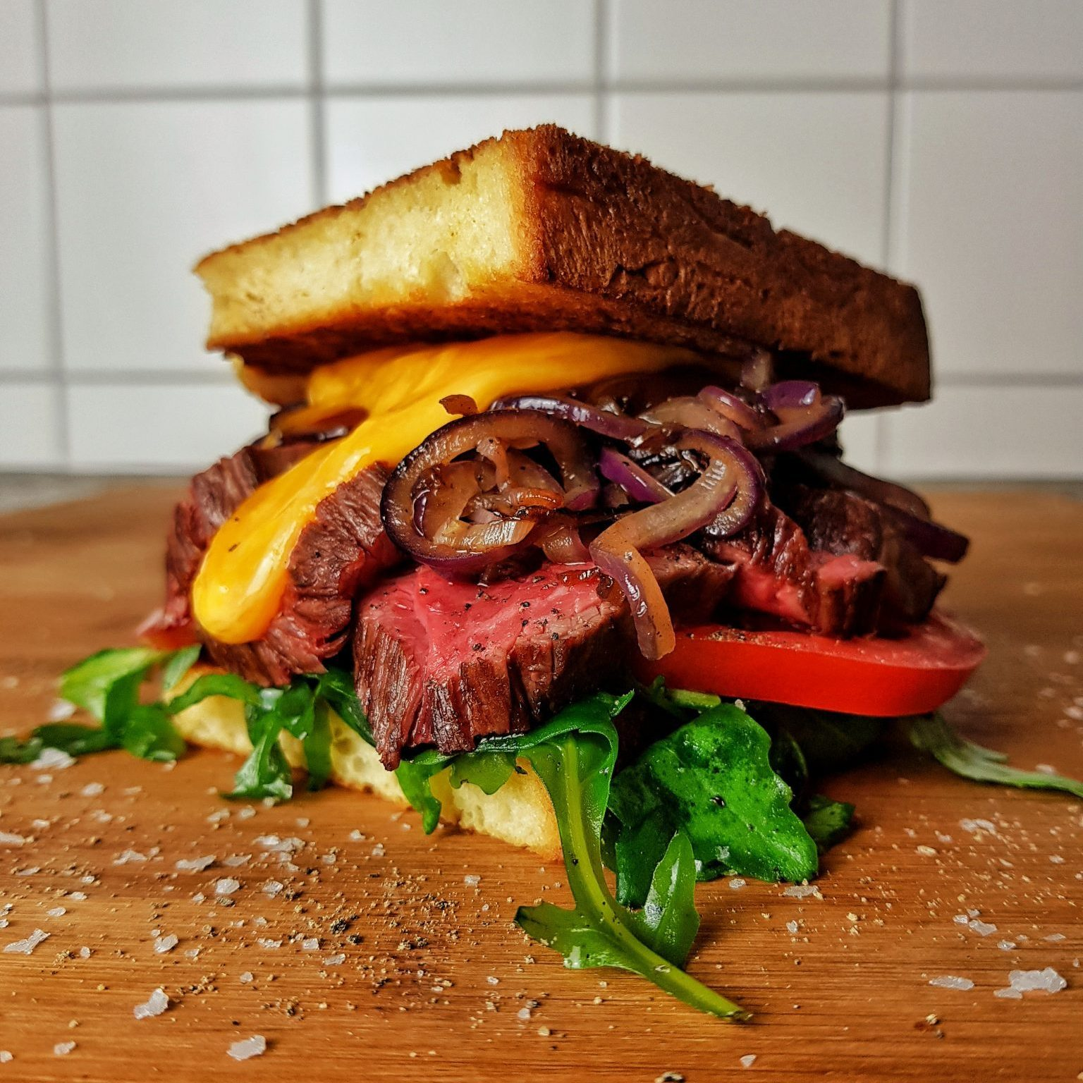 Flapwich – U.S. Flapmeat Sandwich