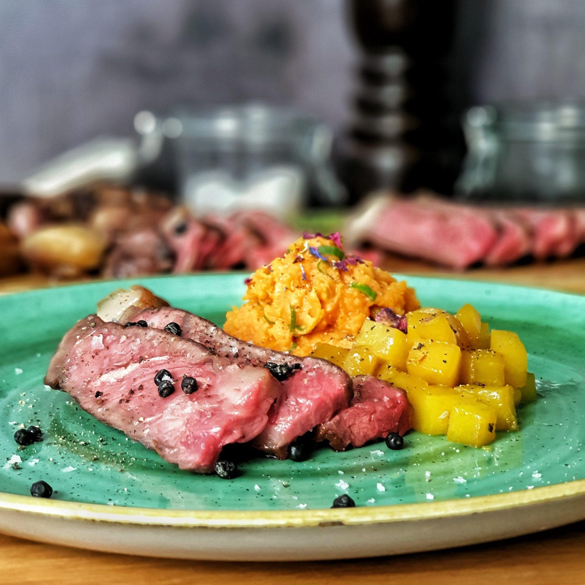 T-Bone Steak von der Färse aus dem Hochmoor